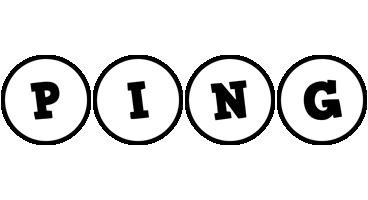 Ping handy logo