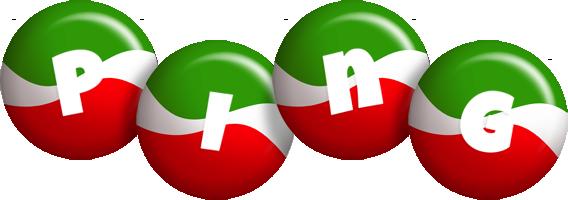 Ping italy logo