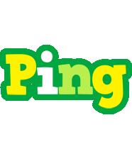 Ping soccer logo