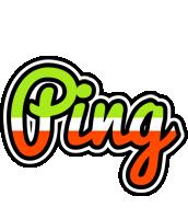 Ping superfun logo