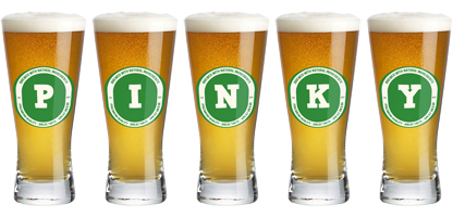 Pinky lager logo