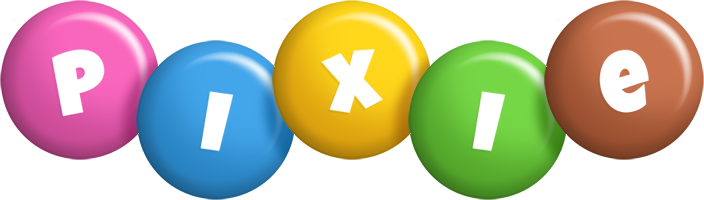 Pixie candy logo