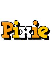 Pixie cartoon logo