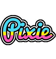 Pixie circus logo