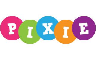 Pixie friends logo