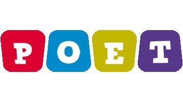 Poet daycare logo