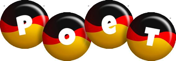 Poet german logo