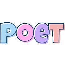 Poet pastel logo