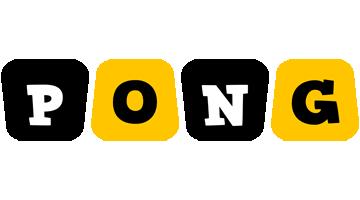 Pong boots logo