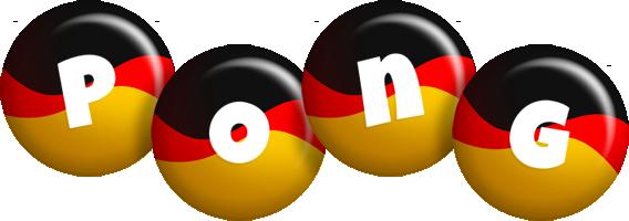 Pong german logo