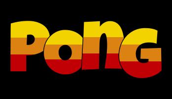 Pong jungle logo