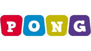 Pong kiddo logo