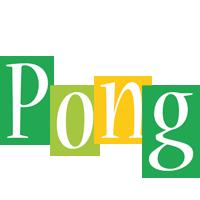 Pong lemonade logo
