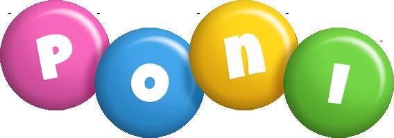 Poni candy logo