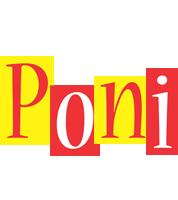 Poni errors logo