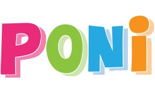 Poni friday logo