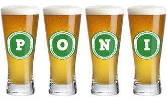Poni lager logo