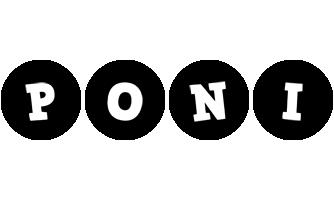 Poni tools logo