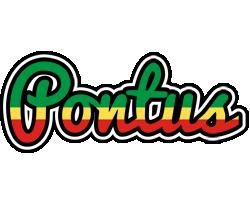 Pontus african logo