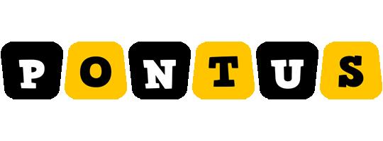 Pontus boots logo