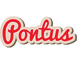 Pontus chocolate logo