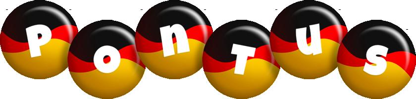 Pontus german logo