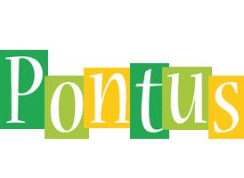 Pontus lemonade logo