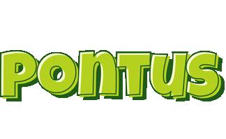 Pontus summer logo