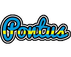 Pontus sweden logo