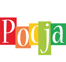Pooja colors logo