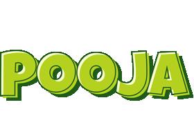 Pooja summer logo