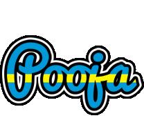 Pooja sweden logo