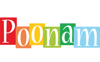 Poonam colors logo