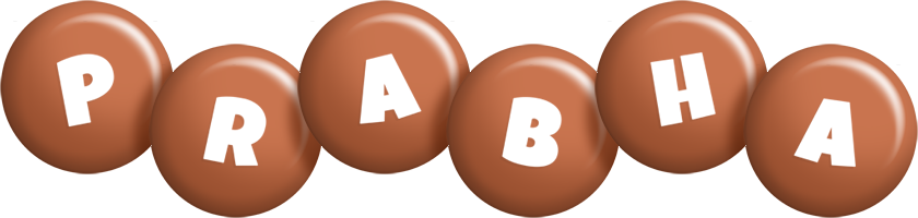 Prabha candy-brown logo