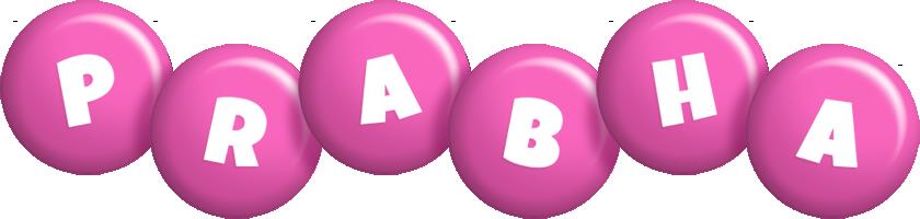 Prabha candy-pink logo