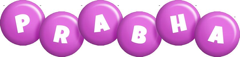 Prabha candy-purple logo