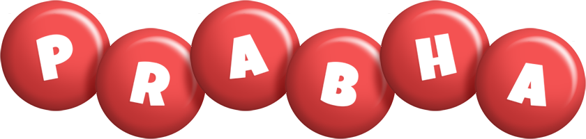Prabha candy-red logo