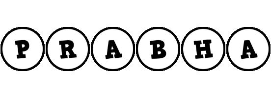 Prabha handy logo