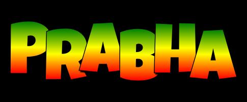 Prabha mango logo