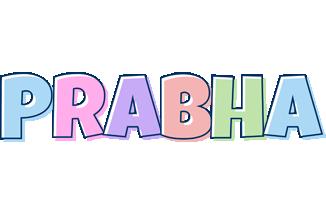 Prabha pastel logo