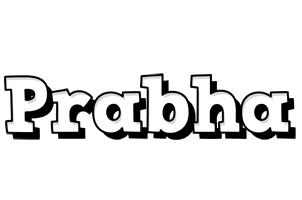 Prabha snowing logo