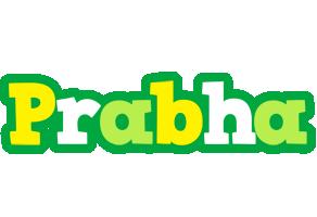 Prabha soccer logo