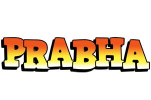 Prabha sunset logo