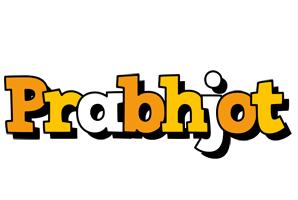 Prabhjot cartoon logo
