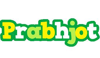 Prabhjot soccer logo