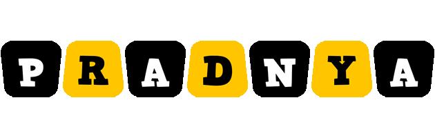 Pradnya boots logo