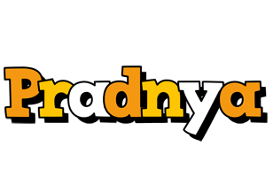 Pradnya cartoon logo