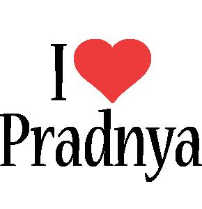Pradnya i-love logo