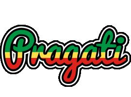 Pragati african logo