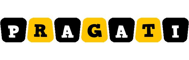 Pragati boots logo